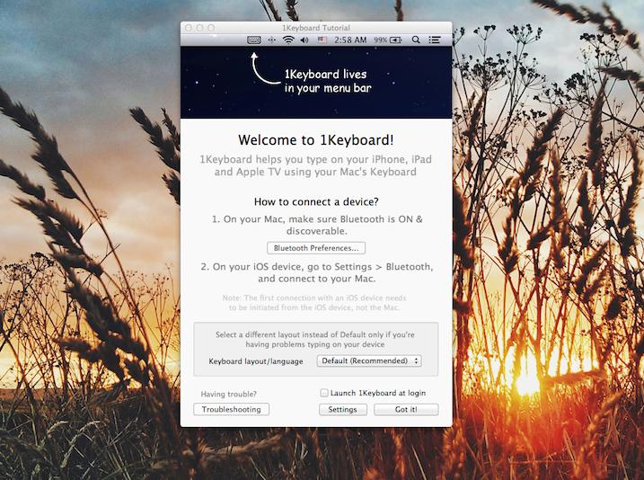 1Keyboard for Mac 1